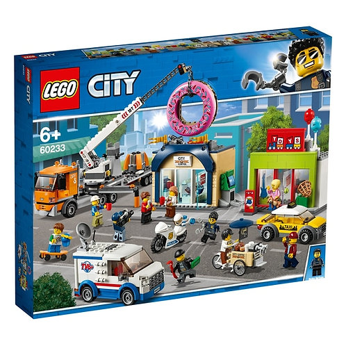 LEGO 60233 CITY - Donut shop opening