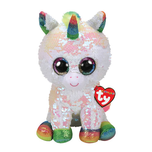 TY SEQUIN UNICORN 23CM - PIXY (36781)