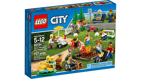 LEGO 60134 CITY - Fun in the park - City People Pack