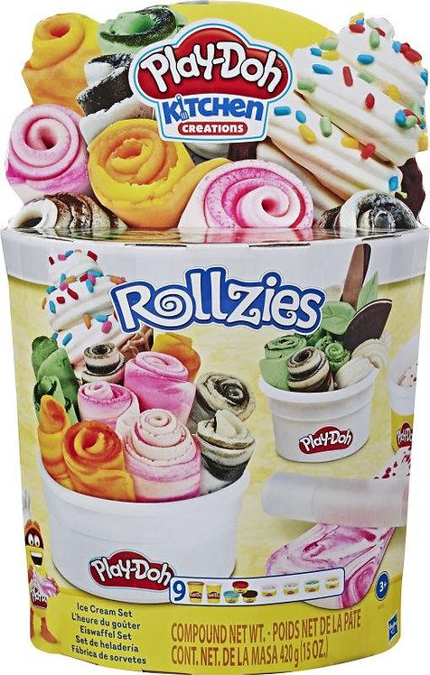 PLAY-DOH ROLLZIES ICE CREAM SET (E8055)