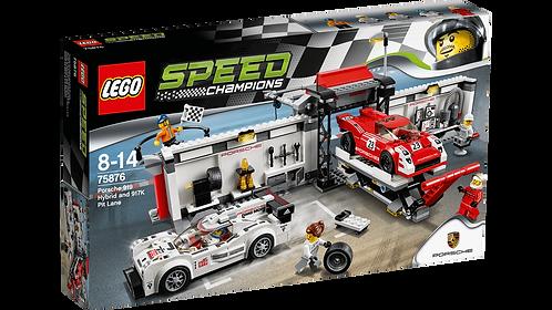 LEGO 75876 SPEED CHAMPIONS - Porsche 919 Hybrid and 917K Pit Lane