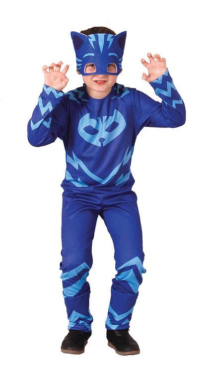 CARNIVAL COSTUME - BLUE MASK HERO