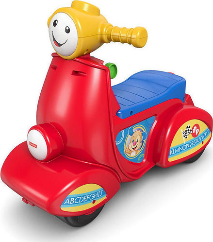 FISHER-PRICE LAUGH N LEARN SCOOTER - GREEK (DHN78)