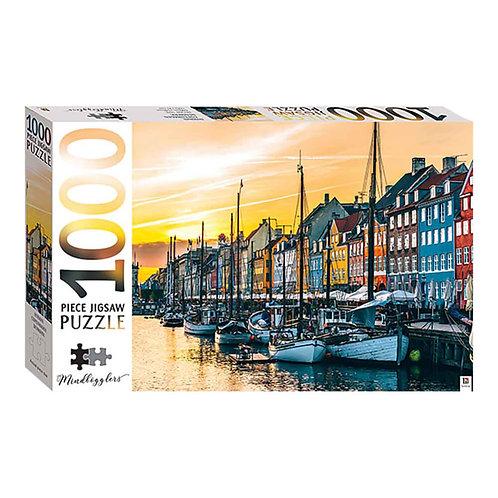 MINDBOGGLERS: NYHAVN, COPENHAGEN 1000PCS