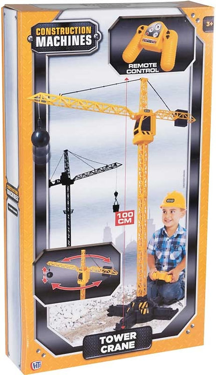 CONSTRUCTION MACHINES TOWER RC CRANE