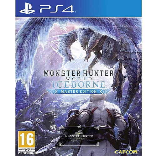 PS4 MONSTER HUNTER WORLD ICEBORN MASTER EDITION