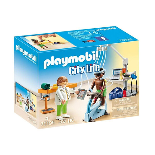 PLAYMOBIL 70195 CITY LIFE - Physical Therapist