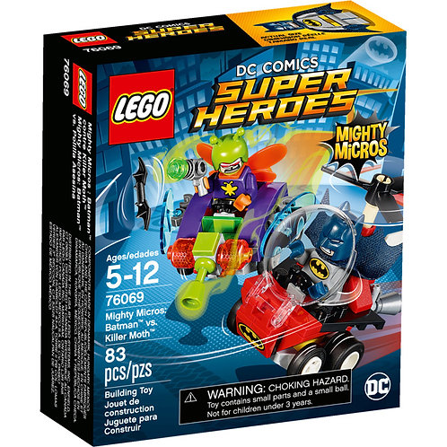 LEGO 76069 SUPER HEROES - Mighty Micros: Batman vs. Killer Moth