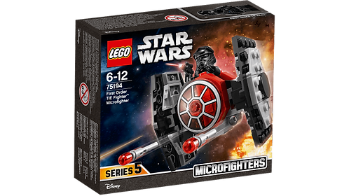 LEGO 75194 STAR WARS - First Order TIE Fighter™ Microfighter