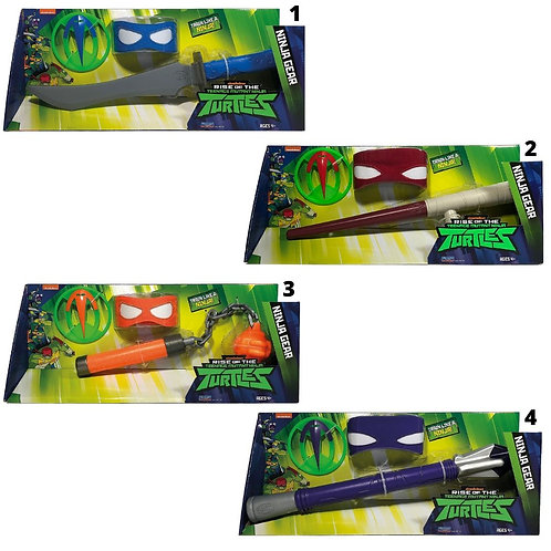 TMNT ROLE PLAY ACTION WEAPONS (TUAB4001)