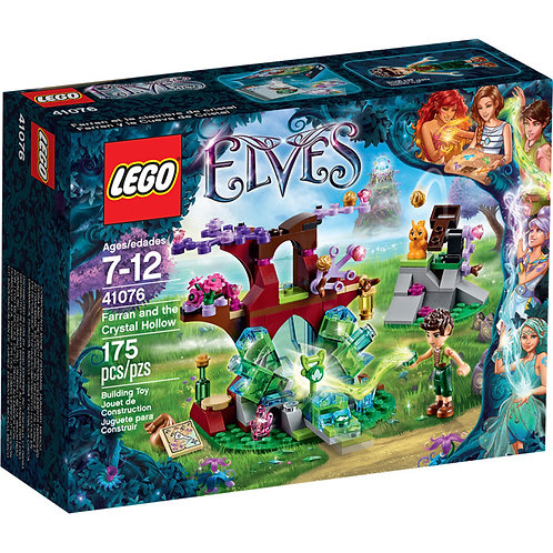 LEGO 41076 ELVES - Farran and the Crystal Hollow