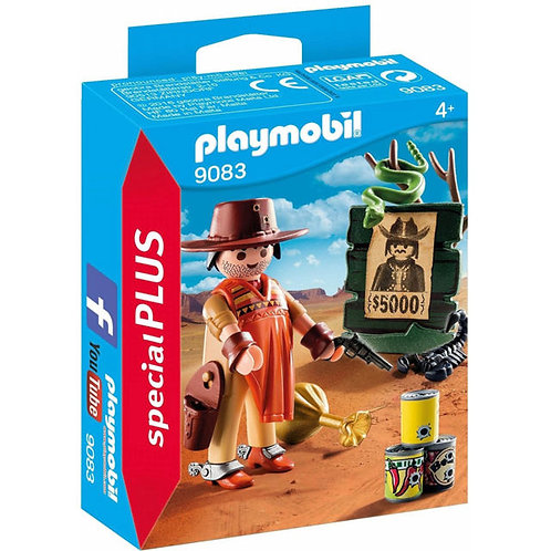 PLAYMOBIL 9083 SPECIAL PLUS - Cowboy with Wanted Poster