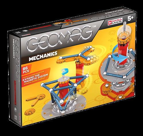 GEOMAG MECHANICS SET - 86 PCS