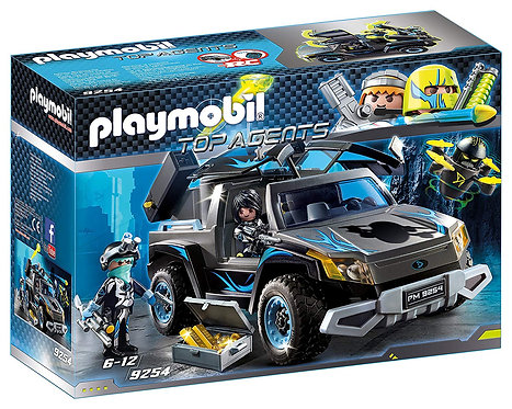 PLAYMOBIL 9254 TOP AGENTS - Dr. Drone's Pickup