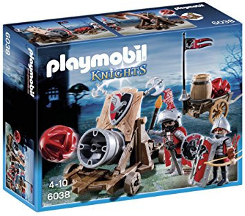 PLAYMOBIL 6038 KNIGHTS - Hawk Knights' Battle Cannon