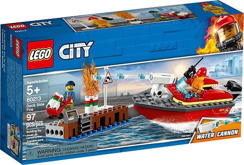 LEGO 60213 CITY - Dock Side Fire