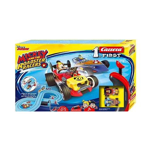 CARRERA SLOT 1.FIRST: MICKEY AND THE ROASTER RACERS 1:50 (20063029)