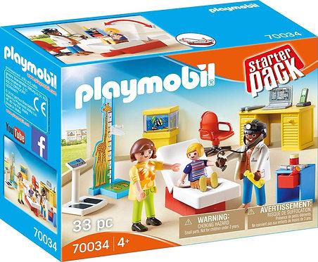 PLAYMOBIL 70034 STARTER PACK - Pediatrician's Office