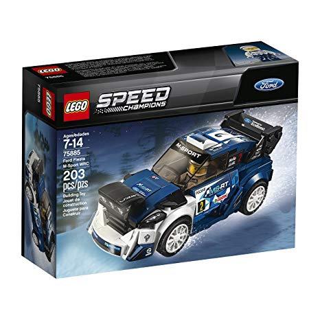 LEGO 75885 SPEED CHAMPIONS - Ford Fiesta M-Sport WRC