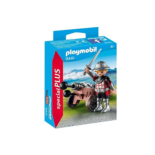 PLAYMOBIL 9441 SPECIAL PLUS - Knight with Canon