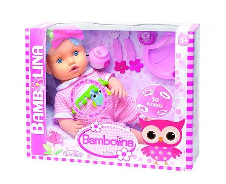 BAMBOLINA BABY DOLL 42CM (BD1374)