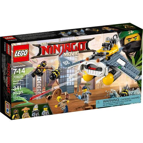 LEGO 70609 NINJAGO - Manta Ray Bomber
