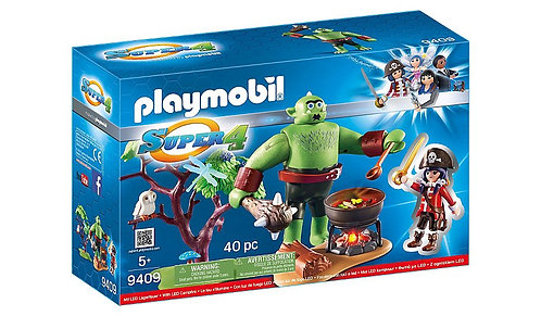 PLAYMOBIL 9409 SUPER 4 - Ogre with Ruby