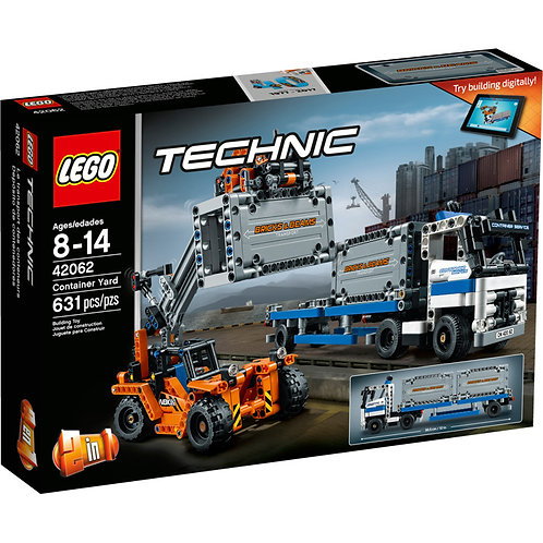LEGO 42062 TECHNIC - Container Yard