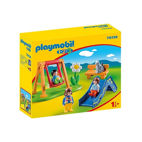 PLAYMOBIL 70130 1.2.3 - Children's Playground