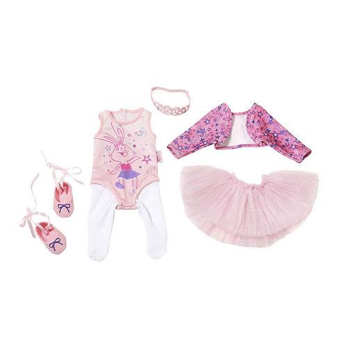 ZAPF BABY BORN BOUTIQUE DELUXE BALLERINA CLOTHES (825013)