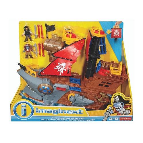 IMAGINEXT SHARK BITE PIRATE SHIP (DHH61)