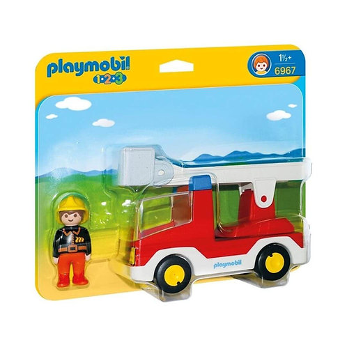 PLAYMOBIL 6967 1.2.3 - Ladder Unit Fire Truck