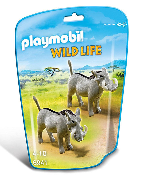PLAYMOBIL 6941 WILD LIFE - Warthogs