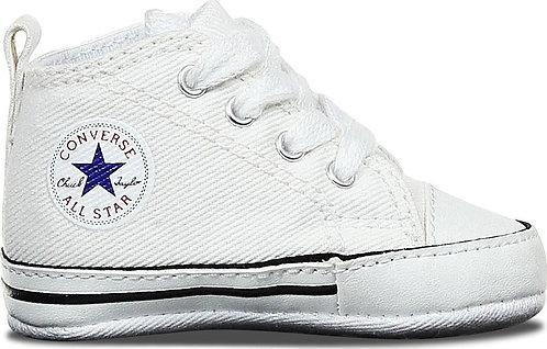 CONVERSE CHUCK TAYLOR FIRST STAR HI - WHITE