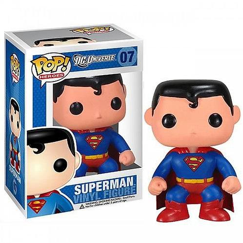 FUNKO POP! HEROES: DC UNIVERSE - SUPERMAN #07 VINYL FIGURE