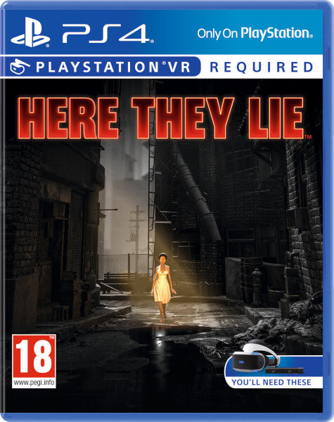 PS4 VR HERE THEY LIE