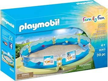 PLAYMOBIL 9063 FAMILY FUN - Aquarium Enclosure