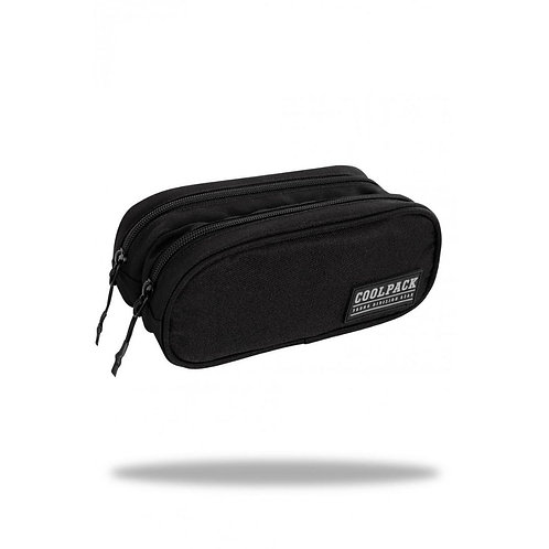 COOLPACK - CLEVER - PENCIL POUCH - ARMY BLACK