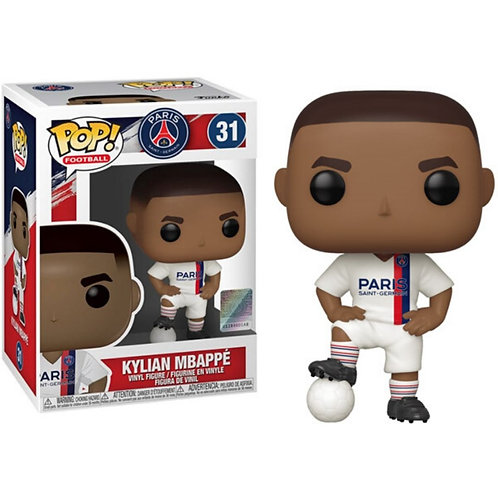 FUNKO POP! FOOTBALL: PSG - KYLIAN MBAPPE (THIRD KIT) #31 VINYL FIGURE