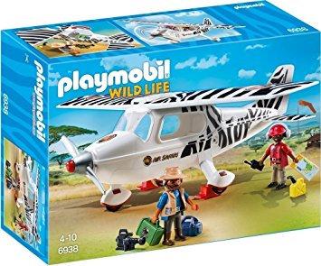 PLAYMOBIL 6938 WILD LIFE - Safari Plane