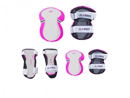 GLOBBER PAD SET PINK XXS (UP TO25kg) (540-110)