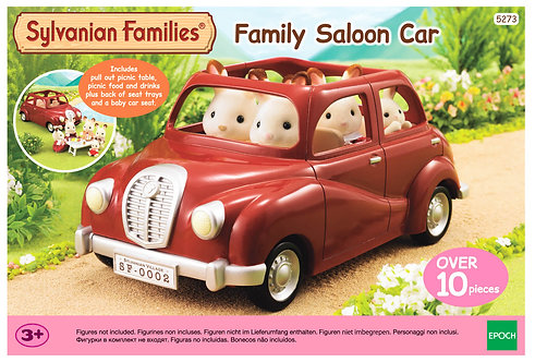 SYLVANIAN FAMILIES: FAMILY SALOON CAR & TABLE FOR PICNIC (5273)
