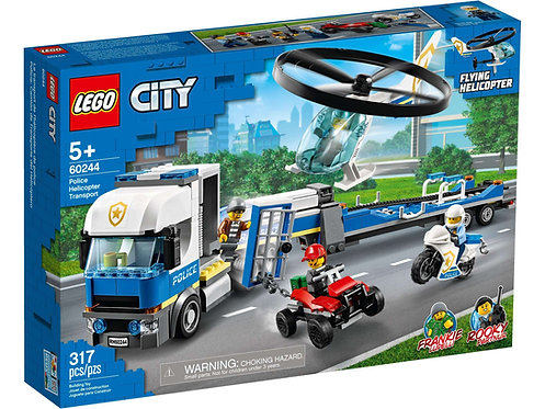 LEGO 60244 CITY - Police Helicopter Transport