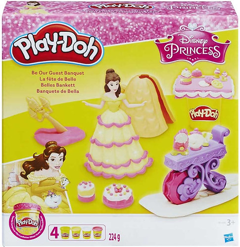 PLAY-DOH DISNEY PRINCESS BE OUR GUEST BANQUET (B9406)