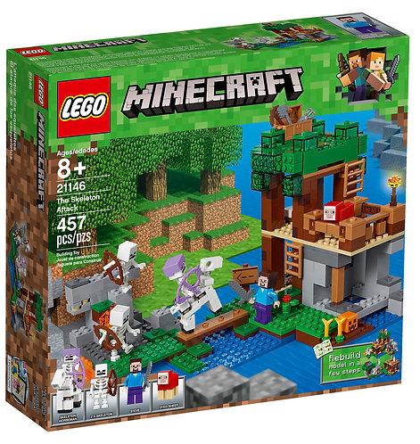 LEGO 21146 MINECRAFT - The Skeleton Attack