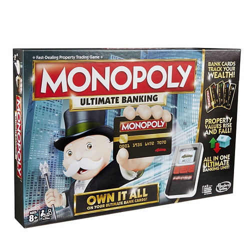 Monopoly Ultimate Banking in English