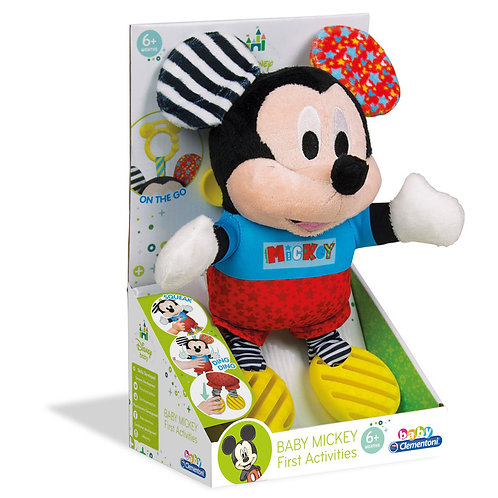 DISNEY BABY MICKEY FIRST ACTIVITIES - RATTLE