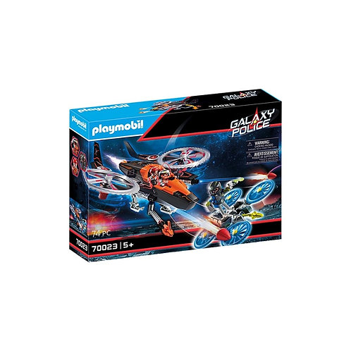 PLAYMOBIL 70023 GALAXY - Pirates Helicopter