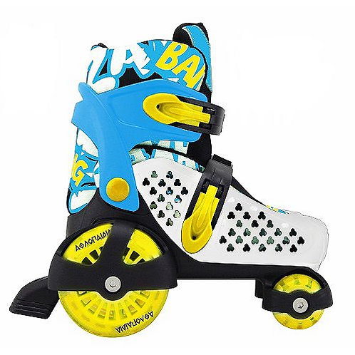 ADJUSTABLE ROLLER SKATES (SIZE 30-33)