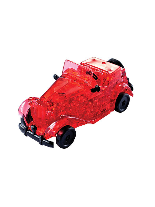 CRYSTAL PUZZLES RED CLASSIC CAR